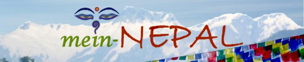 mein-Nepal Shop - Handgefertigt. Fair gehandelt. Original aus Nepal.-Logo